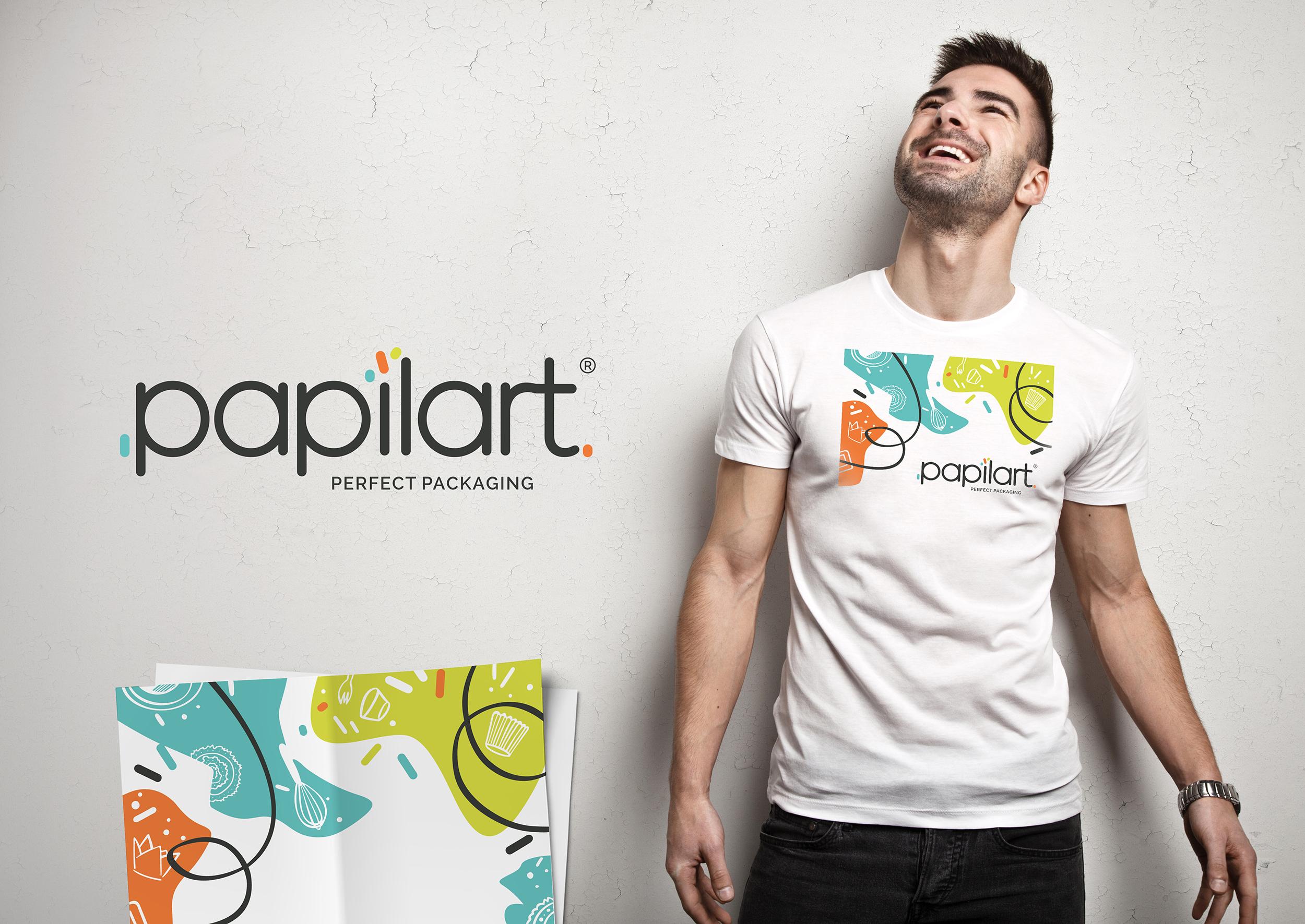 Papilart - rebranding