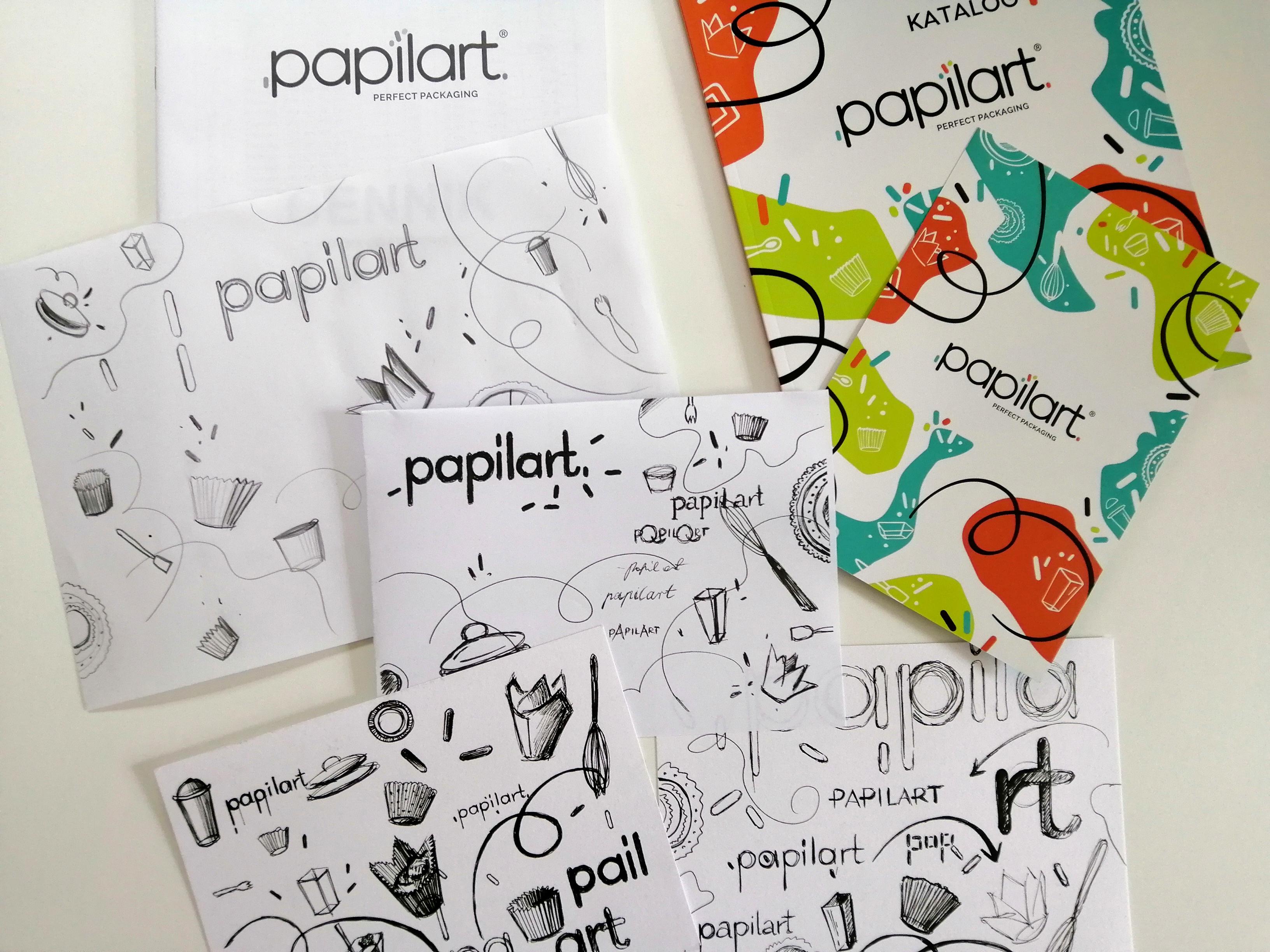 Papilart - rebranding 1